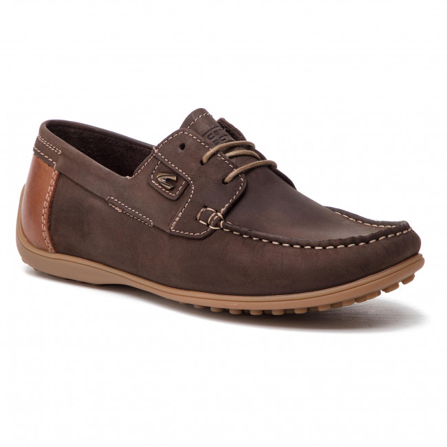 Homme camel active Yacht Loafers Mocassins
