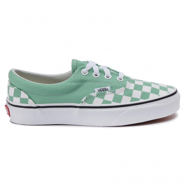 Tennis Vans - Era Vn0a38frvov1 (checkerboard) Neptune Gr Baskets Chaussures Basses Femme 15M486rW
