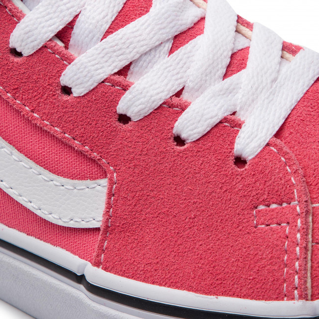 Sneakers Vans - Sk8-hi Vn0a38gegy71 Strawberry Pink/truewhite Chaussures Basses Femme