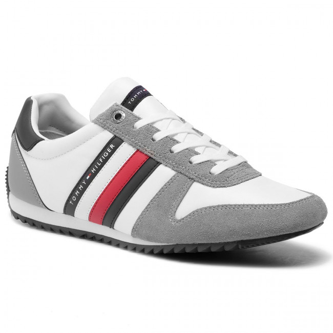 Sneakers TOMMY HILFIGER Essential Nylon Runner FM0FM02024 Griffin 991