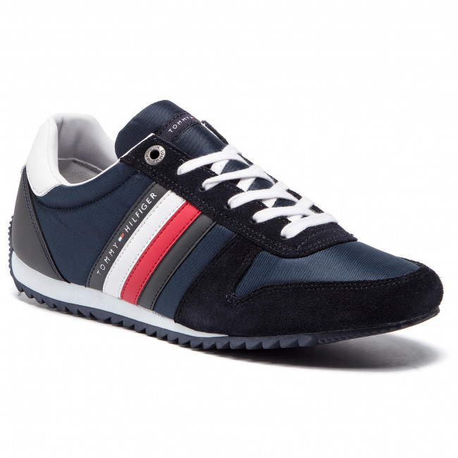Sneakers TOMMY HILFIGER Essential Nylon Runner FM0FM02024 Midnight 403