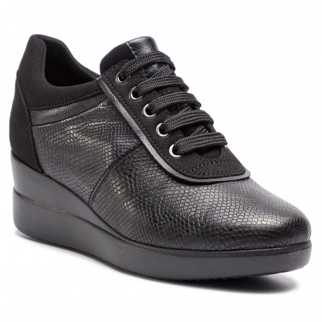 D8430a Sneakers D 09daf Stardust Geox A C9999 Black 7Y6gyvIbf