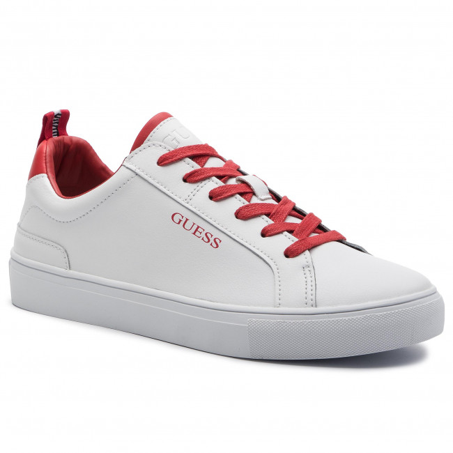 Guess H Sneakers Luiss Low Whire Fm7lui Lea12 XkZTOPiu