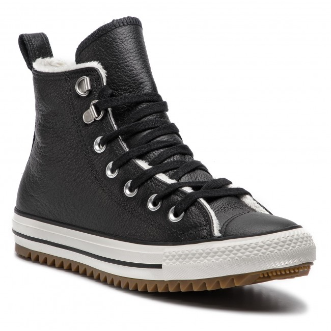 Sneakers CONVERSE Cats Hiker Boot Hi 161512C BlackEgretGum