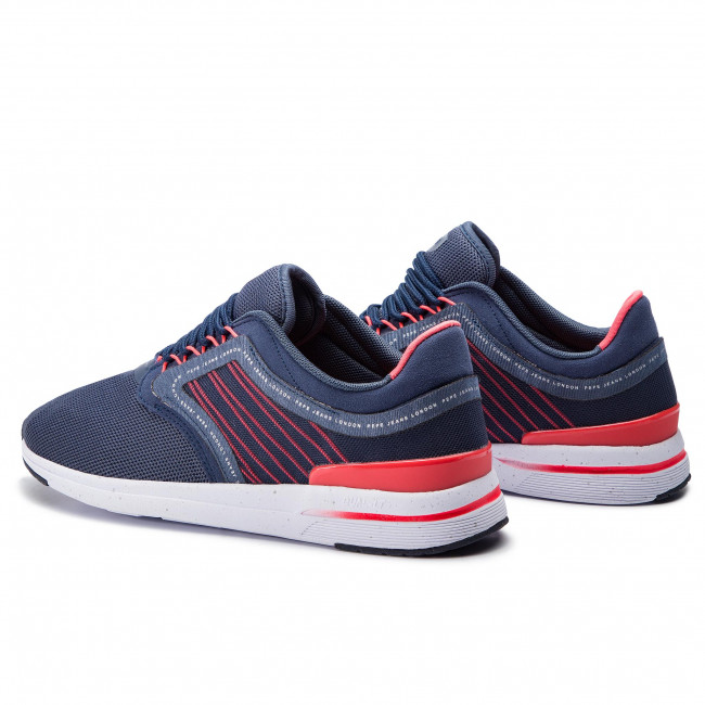 Sneakers Pepe Jeans - Jayker Fast Pms30517 Navy 595 Chaussures Basses Homme