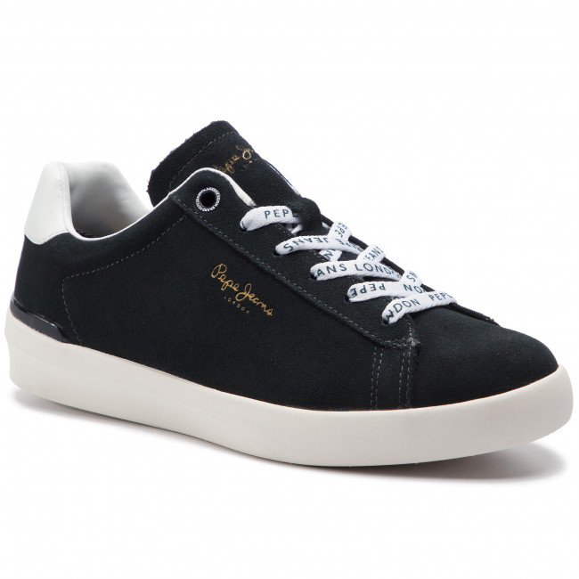 Jeans Suede Sneakers Pepe Roland 982 Pms30524 Anthracite myn08vNOw