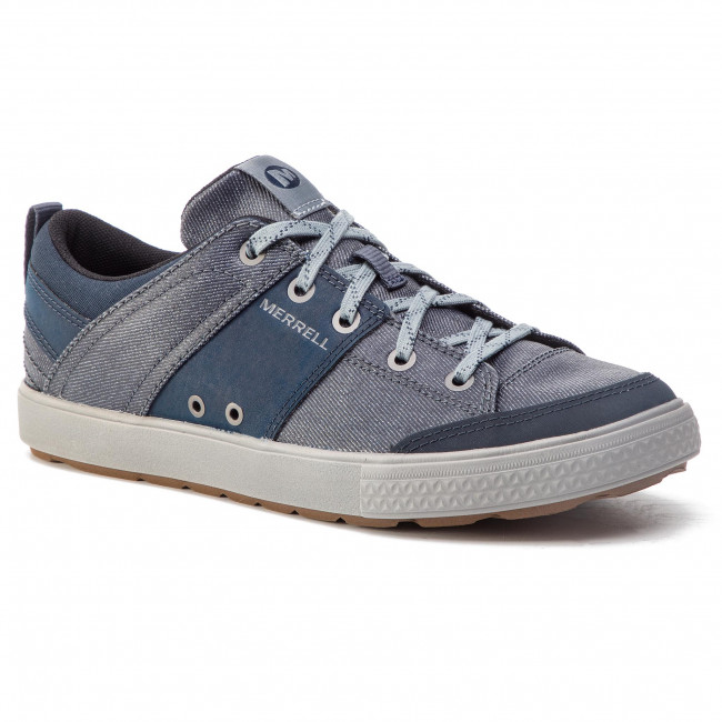 Denim Canvas Rant Basses Lace Discovery Chaussures J94093 Merrell 4L5ARq3jc