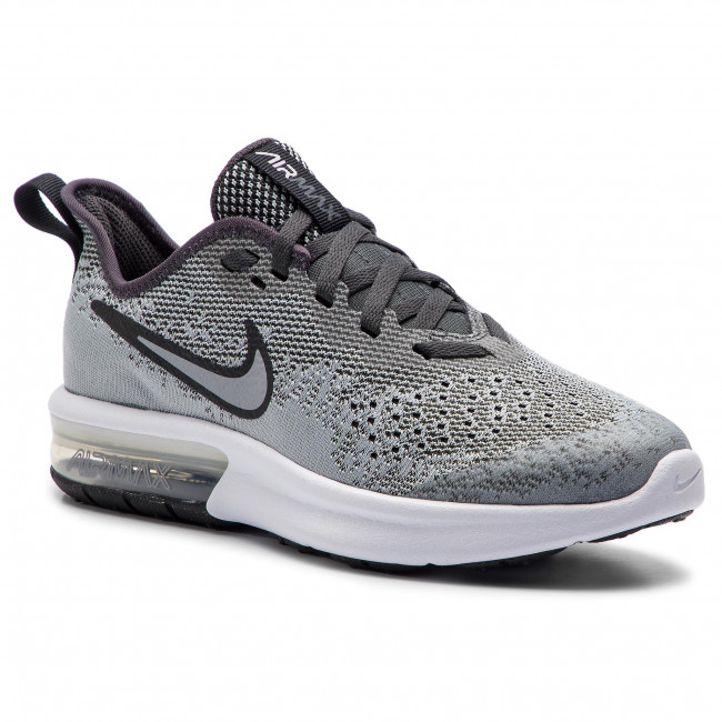 Chaussures NIKE Air Max Sequent 4 (GS) AQ2244 003 Wolf GreyWolf Grey Anthracite