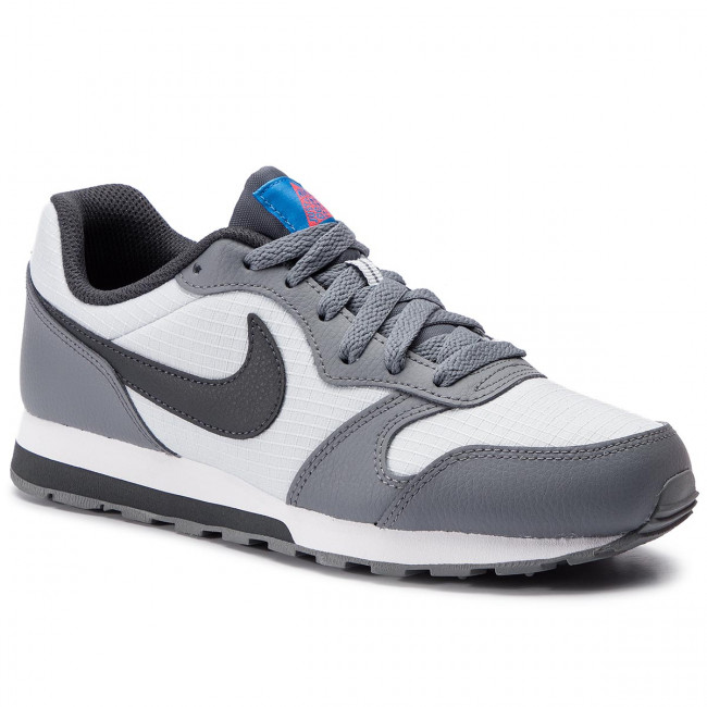 Nouvelles Arrivées 351b4 89b9e Chaussures NIKE - Md Runner 2 (GS) 807316 015 Pure Platinum/Anthracite