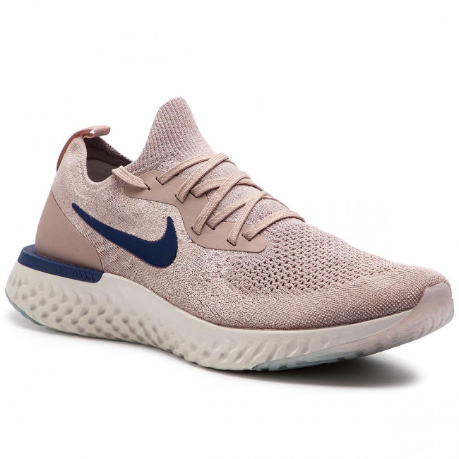 Nike Aq0067 React Taupeblue Chaussures Flyknit Diffused Epic Void 201 hrdQsxtC