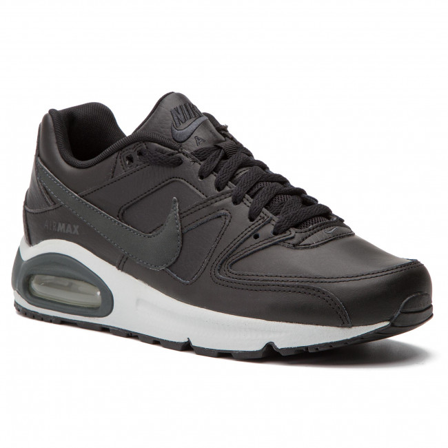 online store 50% price finest selection Chaussures NIKE - Air Max Command Leather 749760 001  Black/Anthracite/Neutral Grey