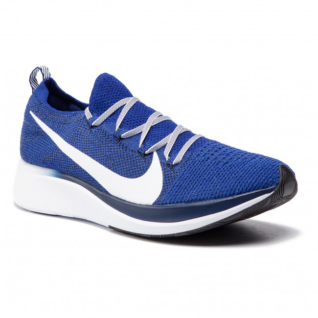 cheapest buying new great deals Chaussures NIKE - Zoom Fly Fk AR4561 400 Deep Royal/White/Blue Void