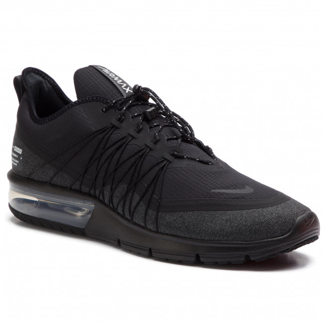 Chaussures NIKE Sequent 4 Utility AV3236 002 BlackAnthracite
