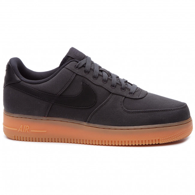 Shoes NIKE Air Force 1 '07 Lv8 Style AQ0117 002 BlackBlackGum Med Brown