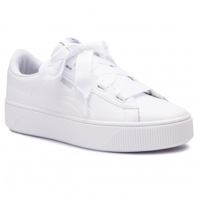 puma vikky stacked ribbon s sneakers basses femme