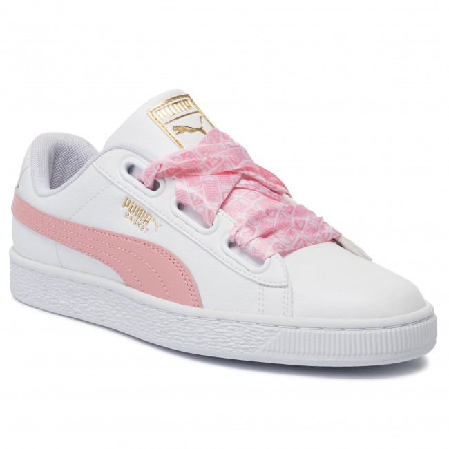 Sneakers PUMA Basket Heart Reinvent Wn's 369935 01 Puma WhiteBridal Rose