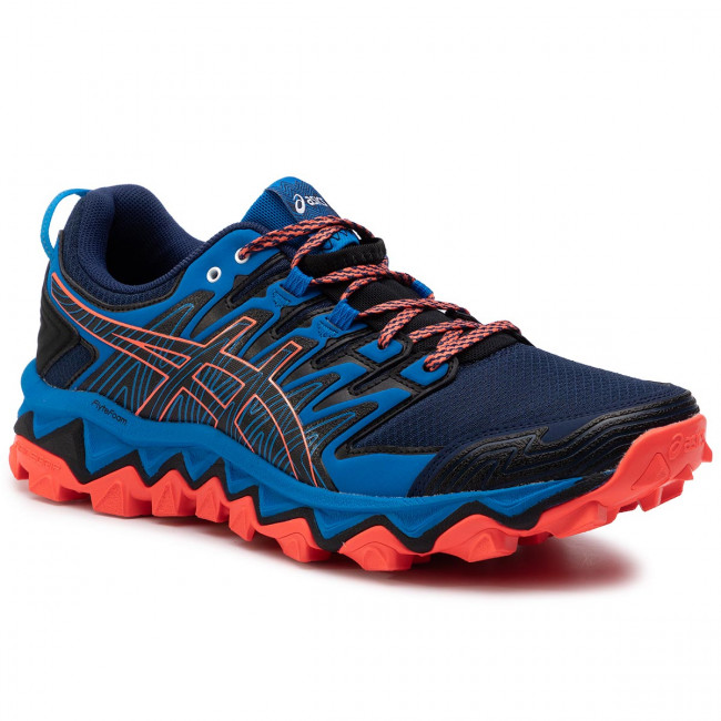 Chaussures ASICS Gel FujiTrabuco 7 1011A197 Blue ExpanseElectric Blue 400