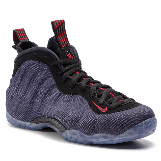Chaussures NIKE Air Foamposite One 314996 404 ObsidianBlackUniversity Red
