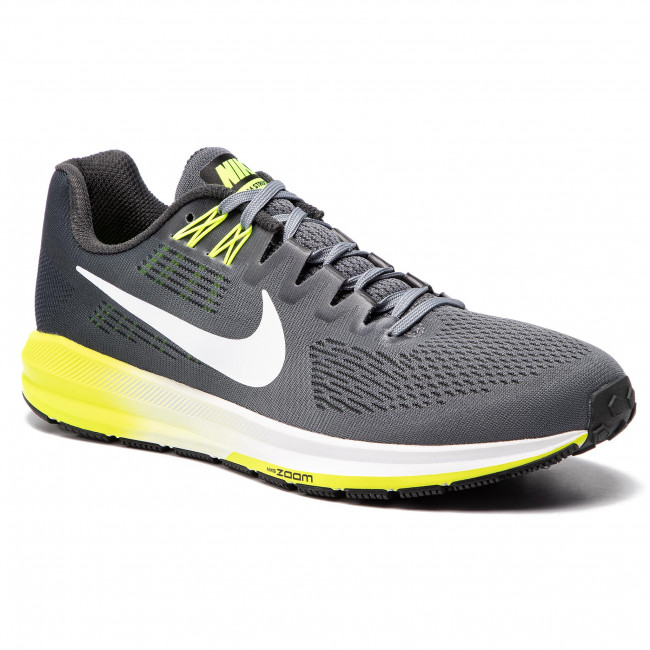 Chaussures NIKE Air Zoom Structure 21 904695 007 Cool Grey WhiteAnthracite