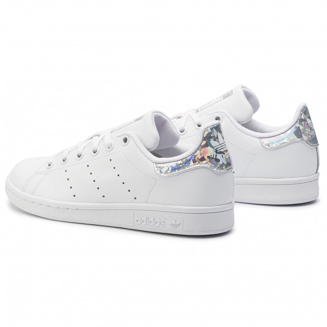Chaussures adidas - Stan Smith J EE8483 Ftwwht/Ftwwht/Cblack