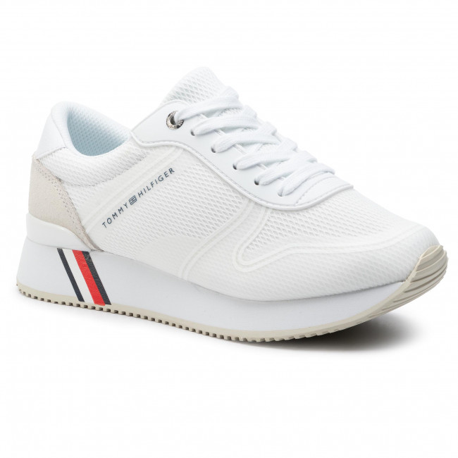 Sneakers TOMMY HILFIGER Active City Sneaker FW0FW04137 White 100