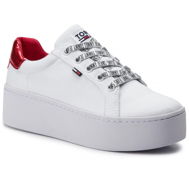 Tommy Jeans Icon Sneaker, Sneakers Basses Femme