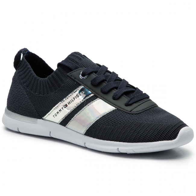 Sneakers TOMMY HILFIGER Corporate Detail Light Sneaker FW0FW04129 Midnight 403
