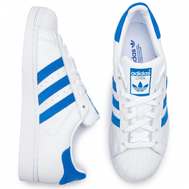 Superstar ftwwht blue Adidas Ee4474 Ftwwht Chaussures wk8nO0P