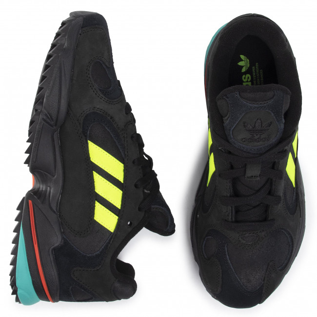 Chaussures adidas - Yung-1 Trail EE5321  Cblack/Syello/Hiraqu - Sneakers - Chaussures basses - Homme