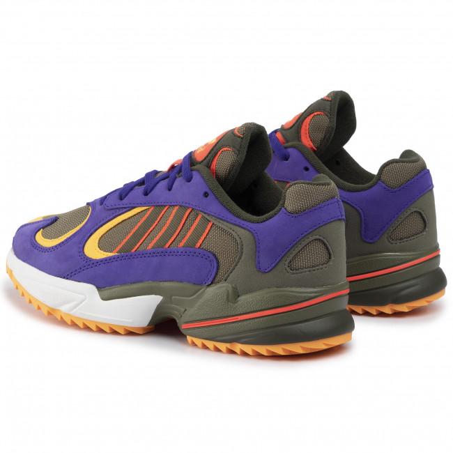 Chaussures adidas - Yung-1 Trail EE6537  Rawkha/Rawkha/Solred - Sneakers - Chaussures basses - Homme