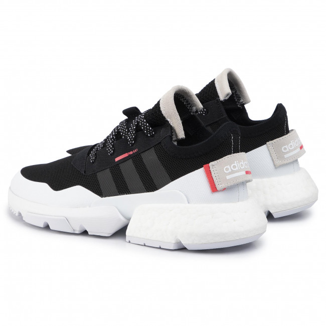 Chaussures adidas - Pod-S3.1 EF1828 Cblack/Cblack/Ftwwht - Sneakers - Chaussures basses - Homme
