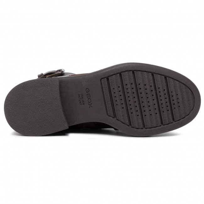 D C6009 Bottines Coffee Geox Adrya F D849tf 0436y I7gfbvYy6