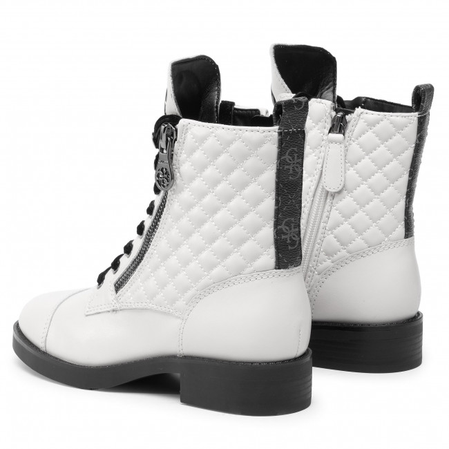 Bottines GUESS Begonia FL8BEG FAL10 WHITE