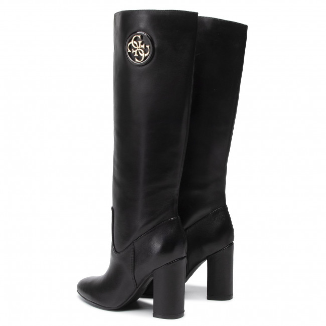 Fl8lee Lemmie Black Bottes Lea11 Guess IED92H