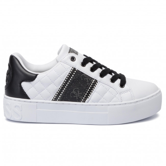 Fl8may Guess Sneakers Mayby White Fal12 2DWEH9YI