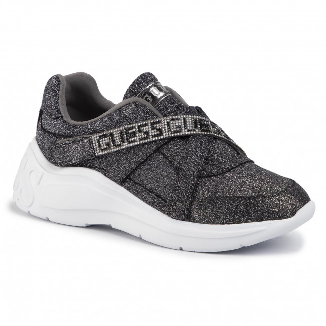 abordables Sneakers GUESS - Stoney2 FL8SE2 FAM12 PEWTER - Sneakers - Chaussures basses - Femme  Prendre plaisir