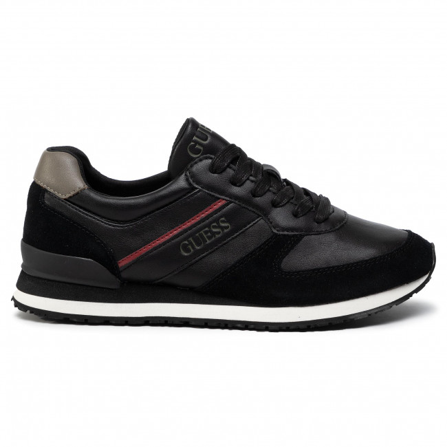 Sneakers GUESS - Charlie FM8CHA ELE12  BLACK - Sneakers - Chaussures basses - Homme