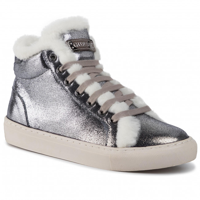 abordables Sneakers GUESS - Furry FJ8FUR ELE12 020G - Sneakers - Chaussures basses - Femme  Prendre plaisir