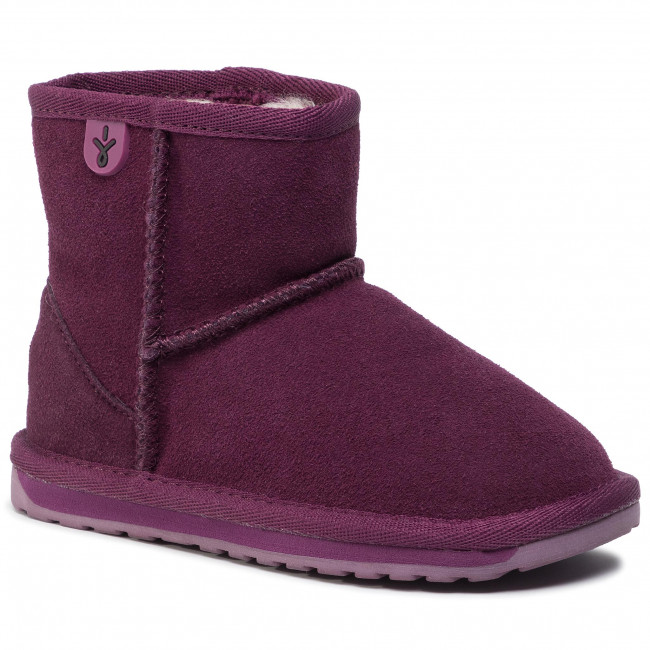 Australia Wallaby Mini Emu Chaussures K10103 Plum m0vn8wNO
