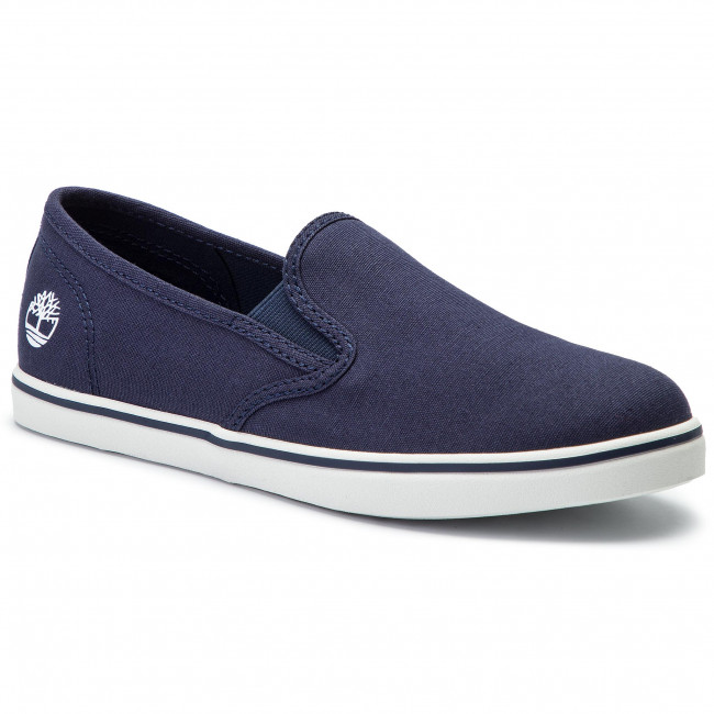 on Canvas Timberland Tennis Slip Tb0a1x79019 Dausette Navy PkwXuZTiOl