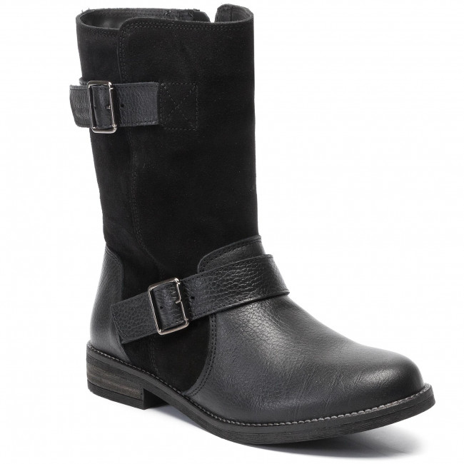 Bottines 261465384 Flow Black Demi Clarks Combi fyb7I6gvY