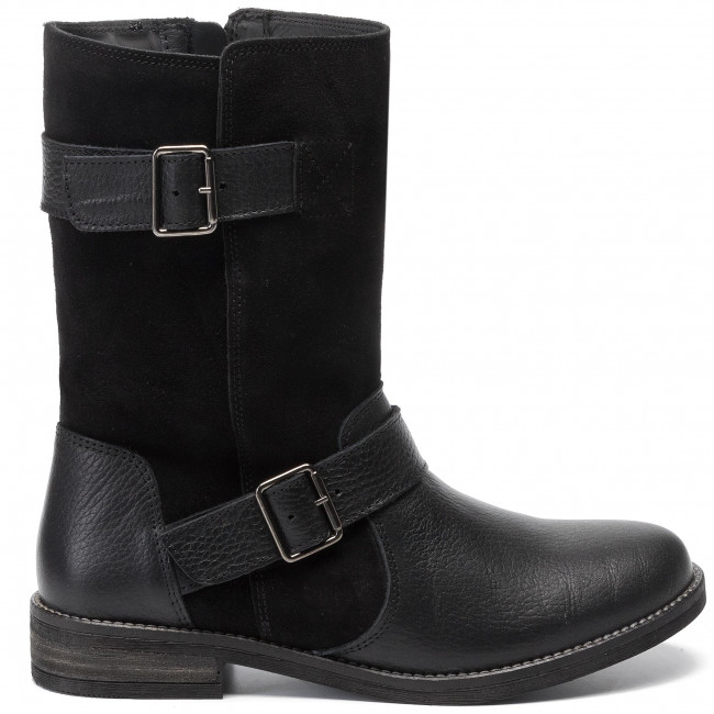 Clarks Combi Bottines Black Flow 261465384 Demi eH2bDEIYW9