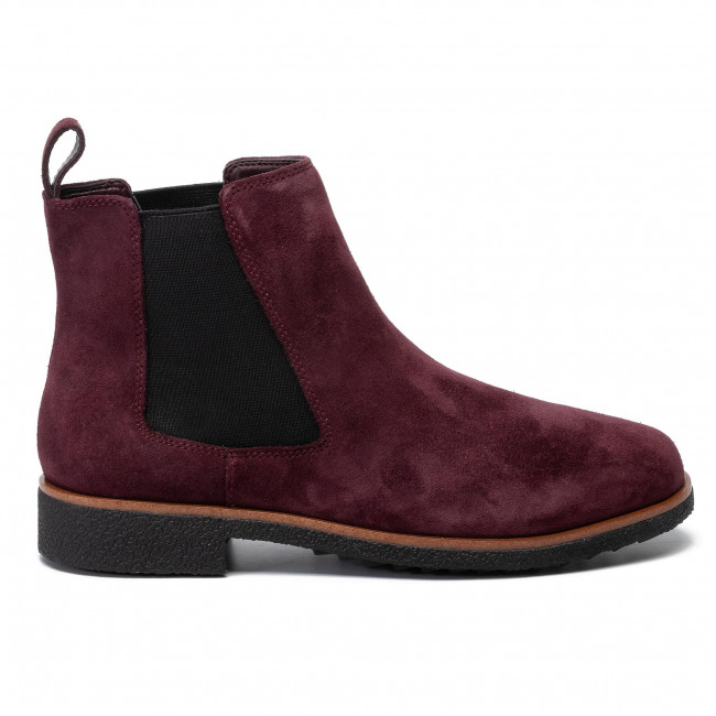 261431104 Griffin Plaza Burgundy Bottines Suede Clarks Chelsea xeCoBd