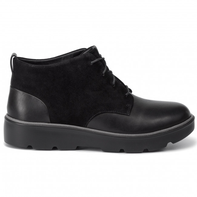 Bottines CLARKS Un Balsa Mid 261451554 Black Combi