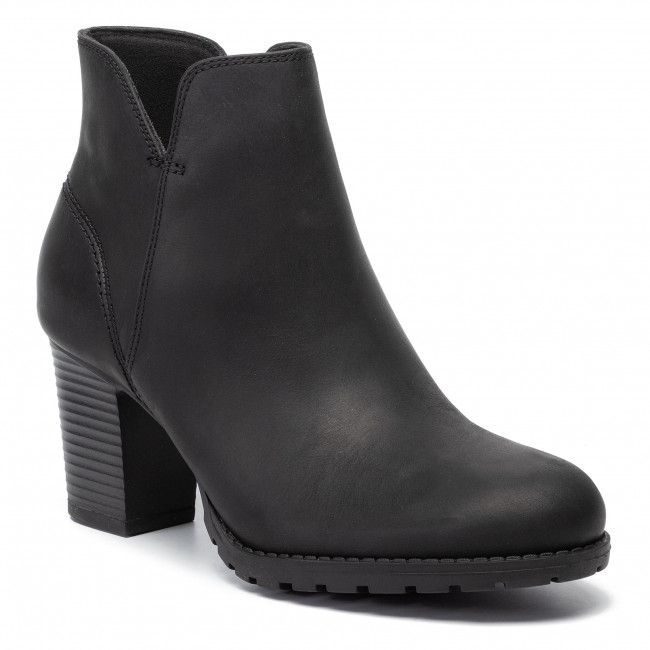 Clarks 261372414 Black Leather Trish Bottines Verona GVqzLUpSM