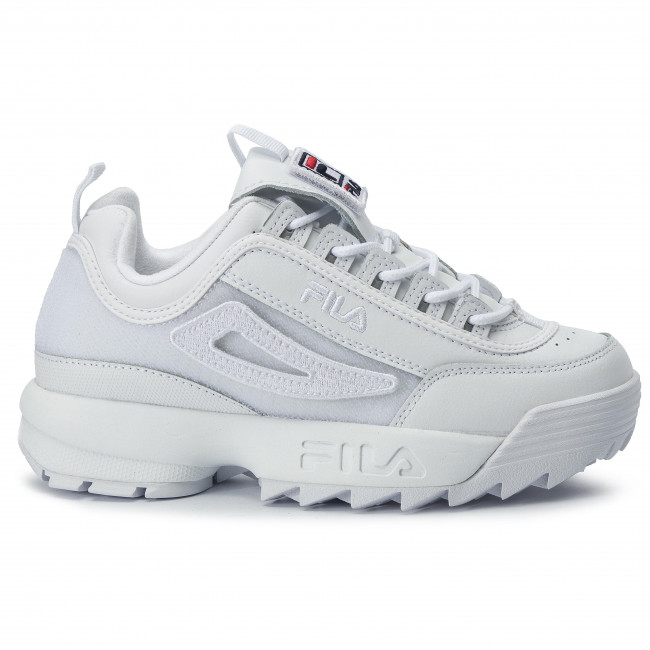 Sneakers Disruptor II Patches Wmn 5FM00538.100 White