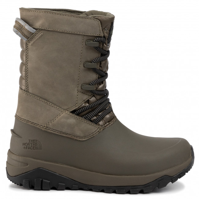 Bottes de neige THE NORTH FACE Yukiona Mid Boot T93K3BBQW New Taupe GreenTnf Black