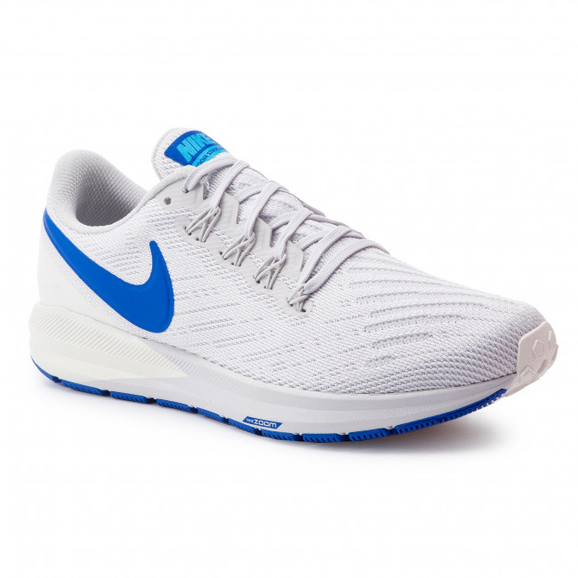 Chaussures NIKE Zoom Structure 22 AA1636 007 Vast GreyGame RoyalSail