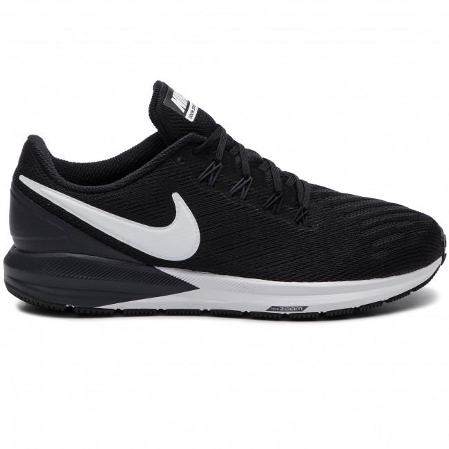 Chaussures NIKE Air Zoom Structure 22 AA1640 002 BlackWhiteGridron