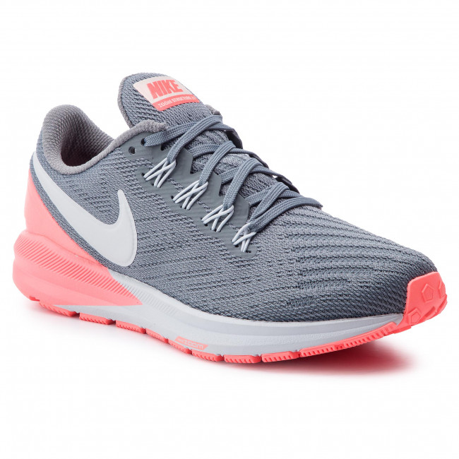 Chaussures NIKE Air Zoom Structure 22 AA1640 005 Cool GreyPure Platinum